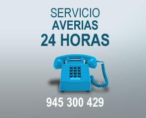Servicio averías 24 horas